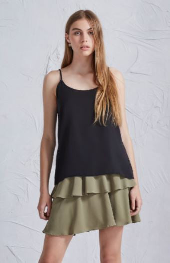 The harmony top in black from The Fifth Label