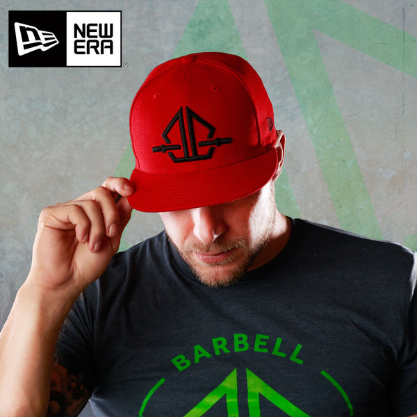 Barbellhood Cap: 9Fifty Red