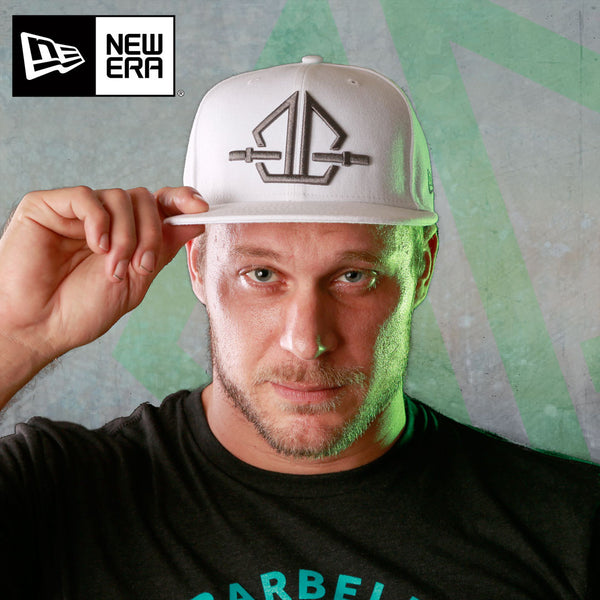Barbellhood Cap: 9Fifty White