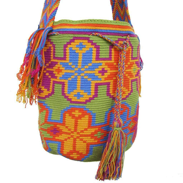 Colombian Mochila Bag #60,,Ananse Village