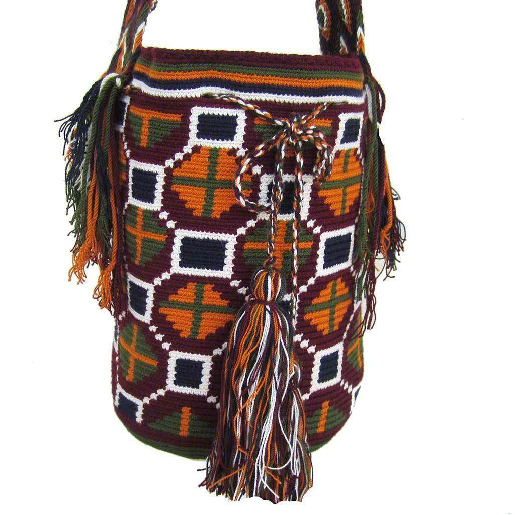 Colombian Mochila Bag #67,,Ananse Village