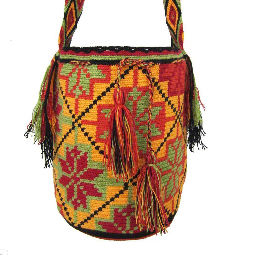Colombian Mochila Bag #63,,Ananse Village