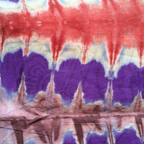 African Tie Dye Fabric #123