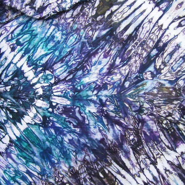 African Tie Dye Fabric #132