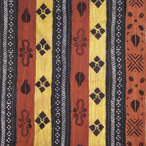 BOGOLANFINI STRIP WOVEN MUD CLOTH #184,Mudcloth,Ananse Village