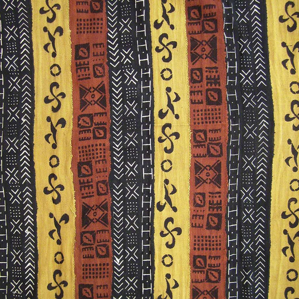 BOGOLANFINI STRIP WOVEN MUD CLOTH #159,Mudcloth,Ananse Village