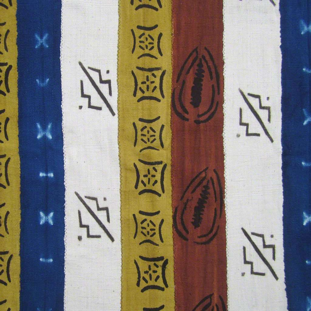 BOGOLANFINI STRIP WOVEN MUD CLOTH #81,Mudcloth,Ananse Village