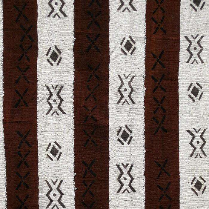 BOGOLANFINI STRIP WOVEN MUD CLOTH #7