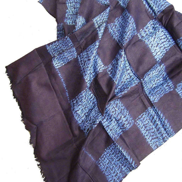 Natural Indigo Fabric from Guinea #318,Indigo,Ananse Village