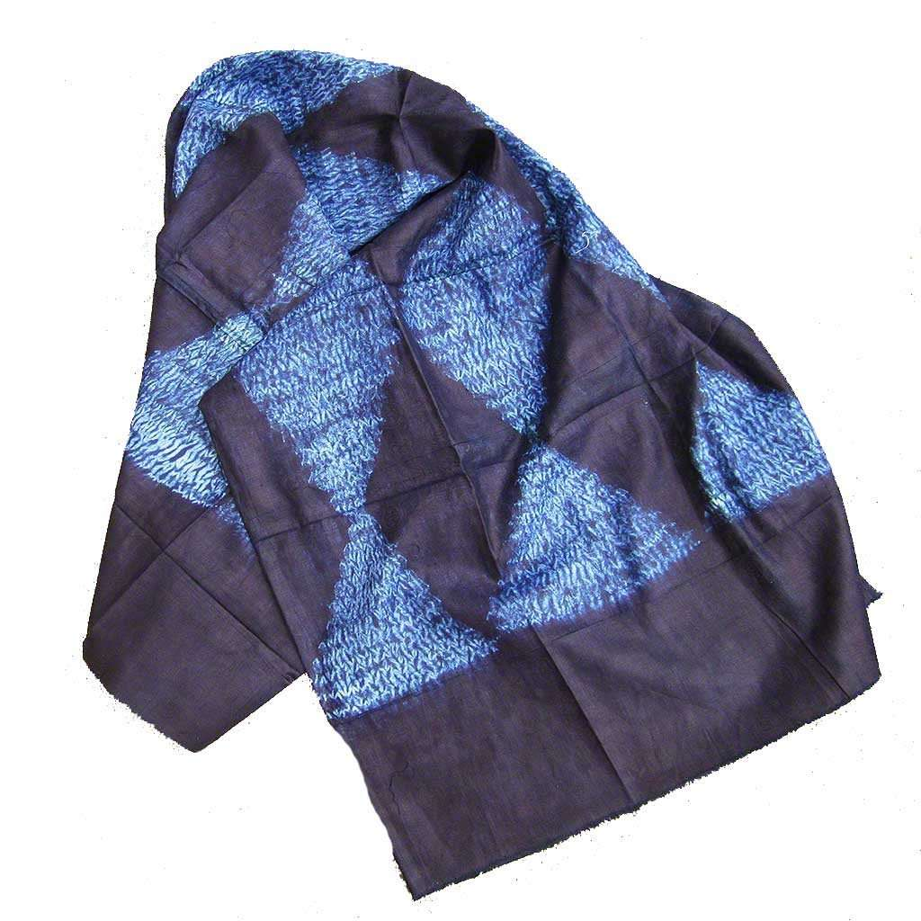 Natural Indigo Fabric from Guinea #317,Indigo,Ananse Village