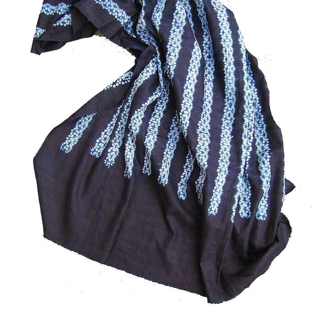 Natural Indigo Fabric from Guinea #314,Indigo,Ananse Village