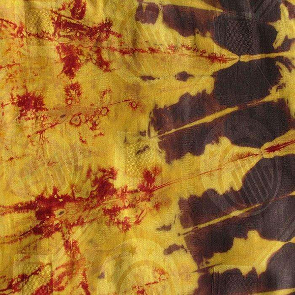 African Tie Dye Fabric #112