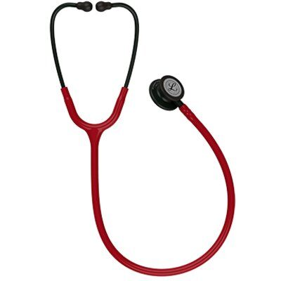 Estetoscopio Littmann Classic III Adulto Burgundy Black Edition