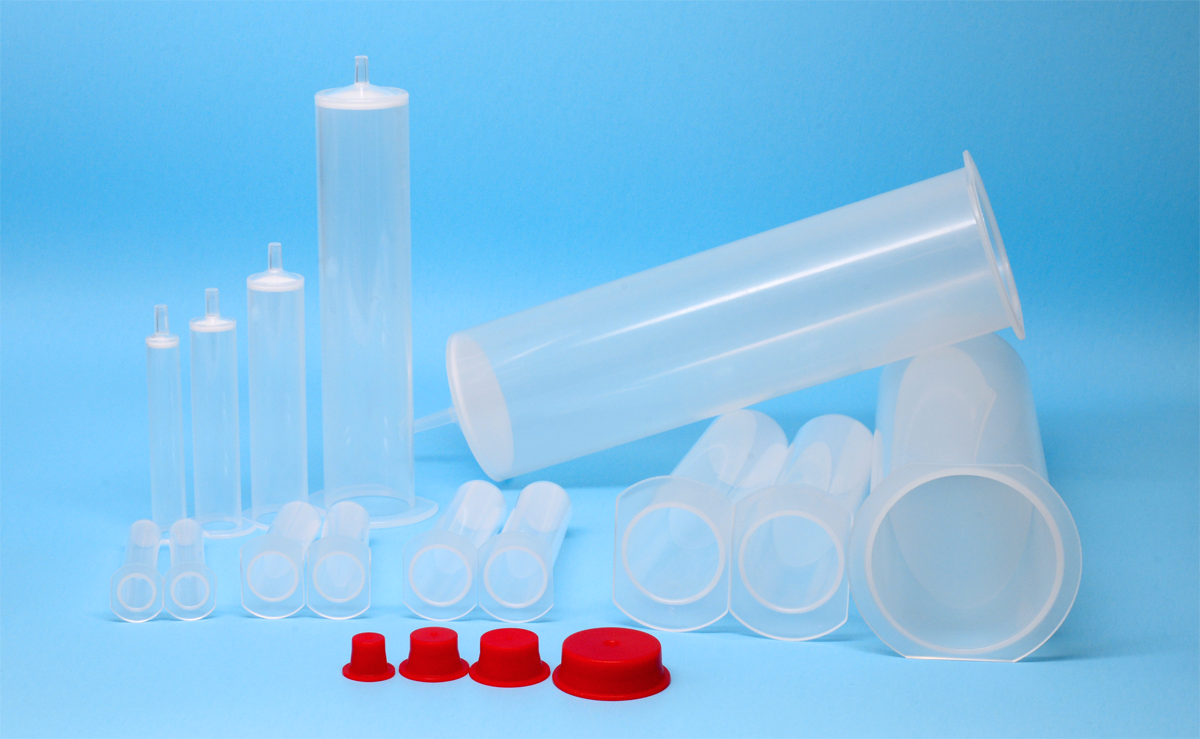 fritted disposable column sets, various sizes