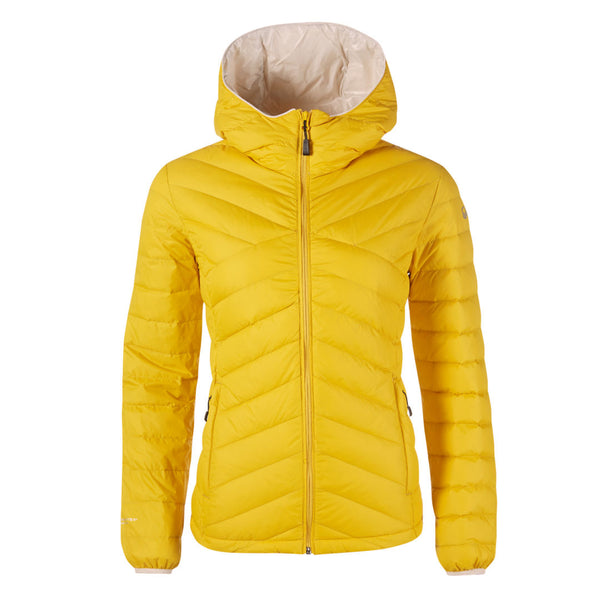 Halti Huippu Women's down jacket yellow