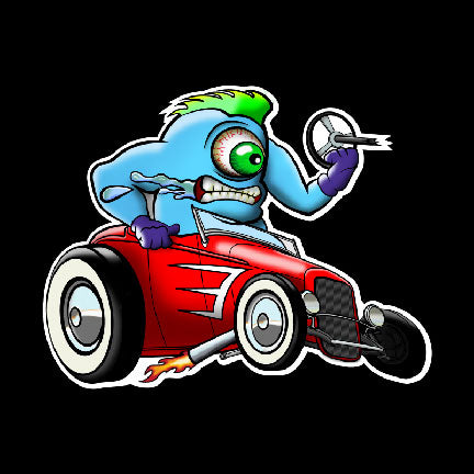 Hot Rod Hooligan - Sticker