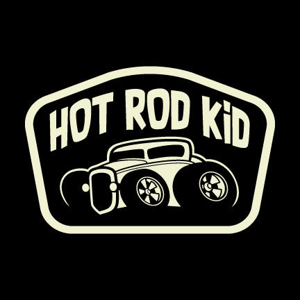 Hot Rod Kid - Sticker