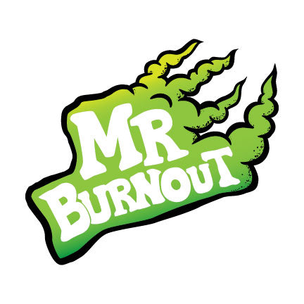 Mr Burnout - Sticker