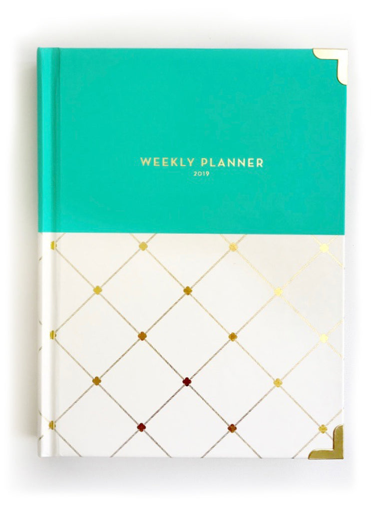 2019 Oceana Aqua Weekly Devotional Planner