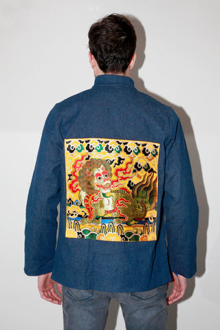 Guardian Dragon Indigo Blazer