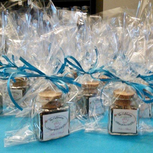 Custom Tea Favors