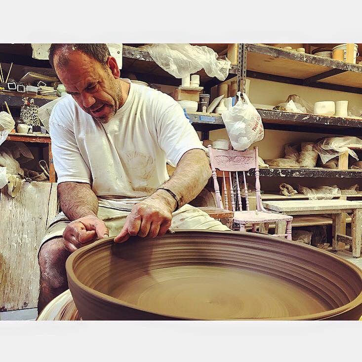KCRW- Getting Centered on the Potter's Wheel