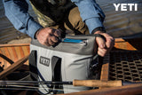 YETI Hopper Two Sizes 40 or 30 or 20 - Fog Gray / Tahoe Blue