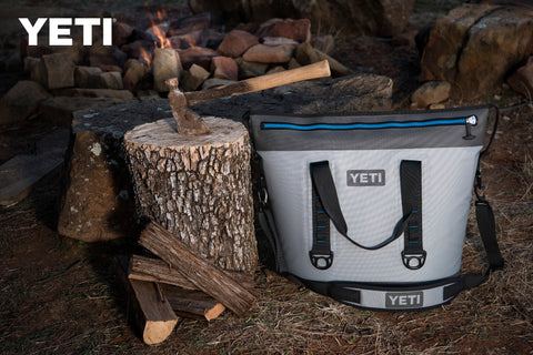 Portable YETI Fog Gray Hopper Two