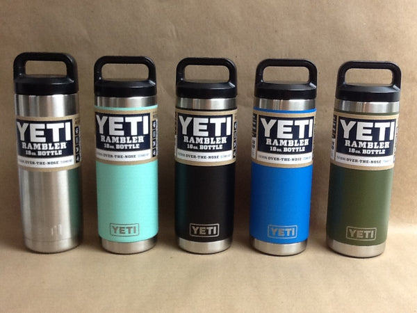 YETI Rambler Bottle Stainless Steel 18 oz - All Colors