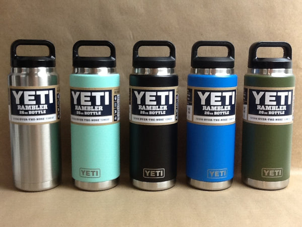 YETI Stainless Steel Rambler Bottle 26 oz All Colors