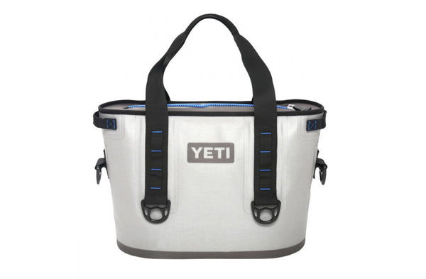 YETI Fog Gray Hopper Sizes 40 or 30 or 20 - Free TIZIP Lubricant