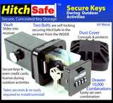HitchSafe Key Vault, Black - HS7000T
