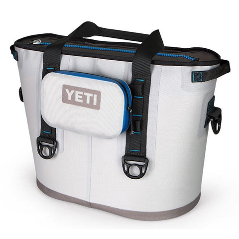 YETI Hopper SideKick Fog Gray YHOPSKG mounted