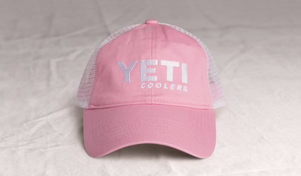 YETI Low Profile Trucker Hat - YHLP Pink