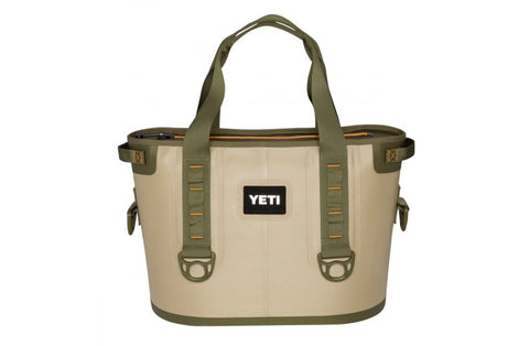 Portable YETI Field Tan Hopper front view