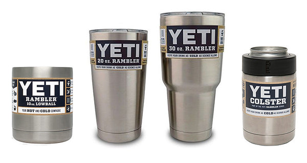 YETI Rambler Package - Rambler 20 oz, 30 oz, Low Ball & Colster