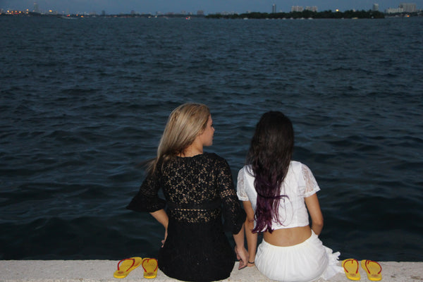 Ana Olema & Annelys in Bescayne, #Miami