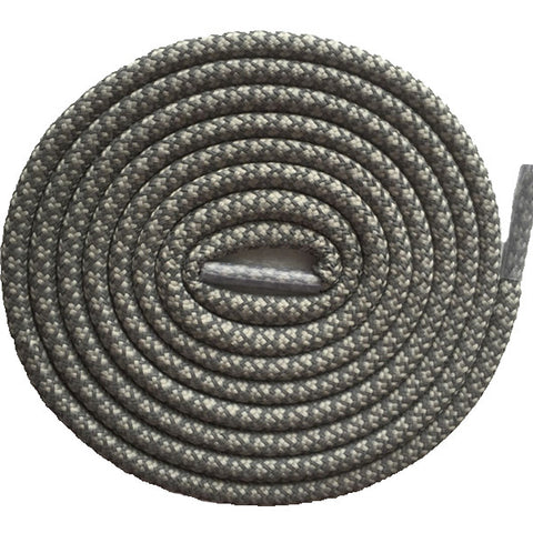 Crephut Rope Laces ( Grey  / Reflective 3M )