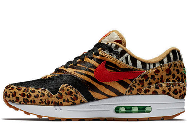 4e80c646b0 Nike Air Max 1 x Atmos Animal Pack DLX – Crephut