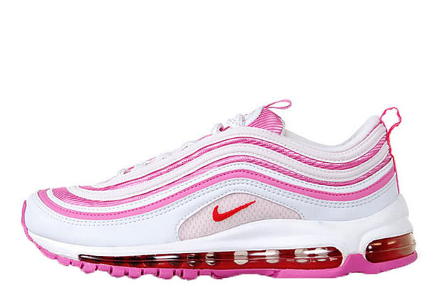 sports shoes 412e5 11eaf Nike Air Max 97 GS   I Love Nike   White Red-Flame-