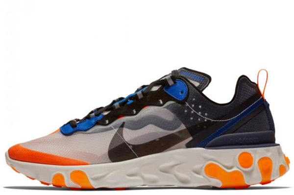 Nike React Element 87 Blue Orange