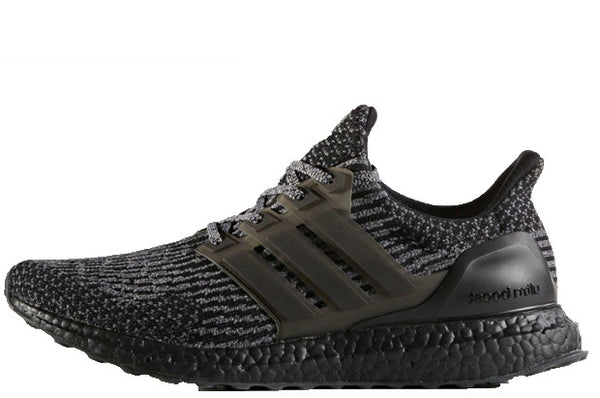 Adidas Ultra Boost Core Black-Metallic Silver/Grey 3.0