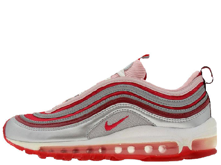 on sale e5c29 cc9f2 Nike Air Max 97 GS Metallic Silver Bubblegum