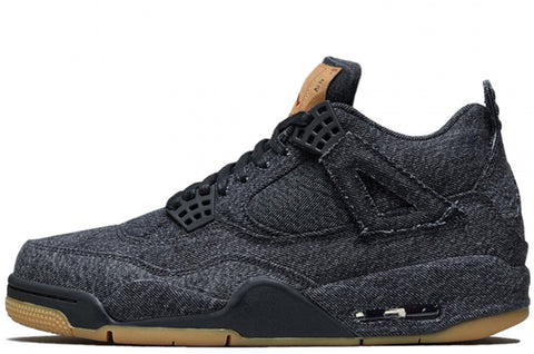 Air Jordan 4 Retro x Levis 'Black'