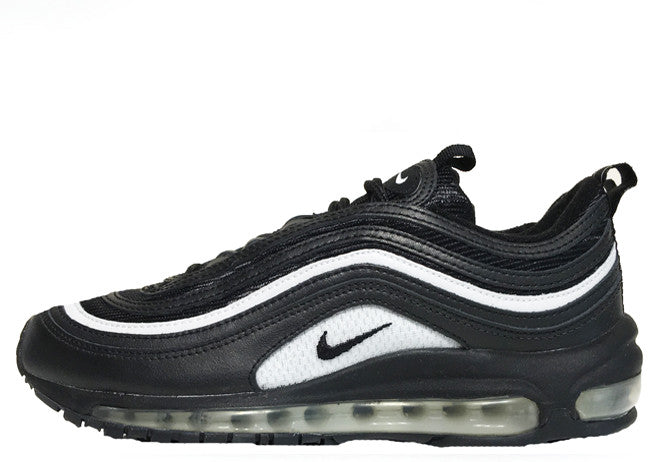 black and white air max 97