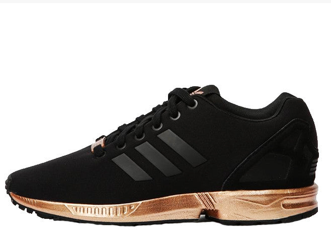 Adidas Zx Flux Black And Copper Metallic