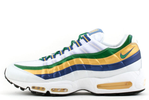 f577ee629 Nike Air Max 95  Brazil World Cup  – Crephut
