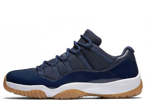 Air Jordan Retro 11 Low 'Navy Gum'