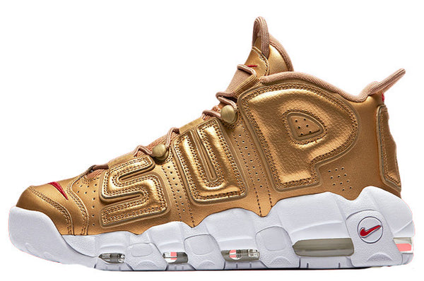 Supreme x Nike Air Uptempo 'Metallic Gold'