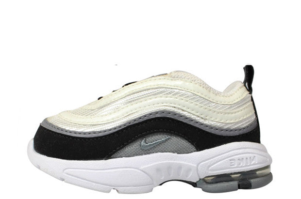 newest 874ef b3fe8 Nike Air Max 97 Toddler 'White-Black/Grey' – Crephut